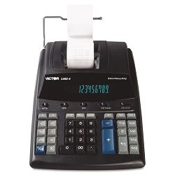 1460-4 Extra Heavy-Duty Two-Color Printing Calculator 12-Digit Display (VCT14604)