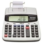 PL3000 Two-Color Printing Desktop Calculator 12-Digit LCD BlackRed (VCTPL3000)