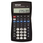 V10 Professional Financial Calculator 10-Digit LCD Display Black (VCTV10)