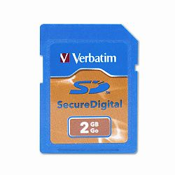 Secure Digital High Capacity Memory Cards 2GB (VER95407)