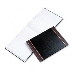 "Detailed Visitor Register Book Black Cover 208 Pages 9 12"" x 12 12"" (WLJS491)"
