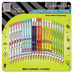 Cadoozles Mechanical Pencil Assorted Barrels 0.7 mm Pack of 28 (ZEB51291)