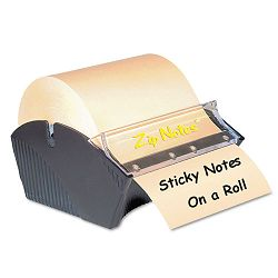 "Manual Sticky Note Dispenser 3"" x 3"" Dark Blue (ZIP0021)"