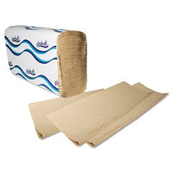 "Embossed Multifold Paper Towels 9-15"" x 9-25"" Natural 250Pack Carton of 16 (WNS1040)"