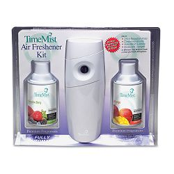 Metered Fragrance Dispenser Kit with 2 Refills Cans 6.6 oz. Aerosol (WTB321970TM)