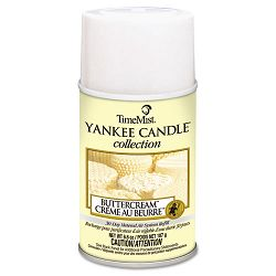 Yankee Candle Air Freshener Refill Buttercream 6.6 oz Aerosol Can (WTB812200TMCA)