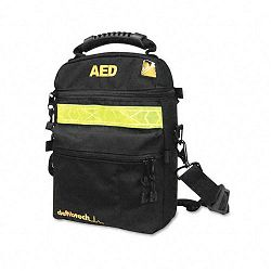 Soft Nylon Carrying Case for Lifeline AED DefibrillatorAccessories Black (DFBDAC100)