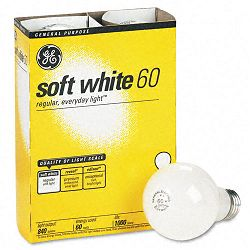 Incandescent Globe Bulbs 60 Watts Pack of 4 (GEL41028)