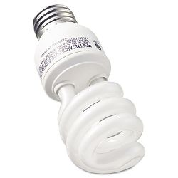 Compact Fluorescent Bulb 13 Watt T3 Spiral Soft White Pack of 2 (GEL74199)