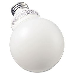 Compact Fluorescent Bulb 11 Watt G25 Globe Soft White Pack of 3 (GEL85392)
