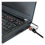 ClickSafe Keyed Laptop Lock 5ft Cable Black (KMW64637)