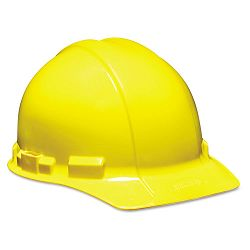 XLR8 Dielectric Hardhat with Sliding Pin-Lock Sizing Size 6-Pt.Yellow (MMM4596300001)
