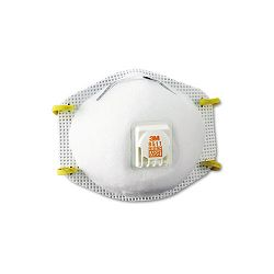 Particulate Respirator with Cool Flow Exhalation Valve 10 MasksBox (MMM8511)