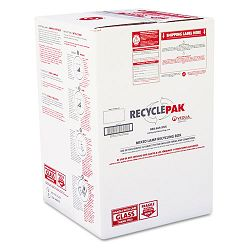 "Prepaid Recycling Container Kit for Mixed Lamps 16""w x 16""d x 25""h Box White (SPDSUPPLY126)"