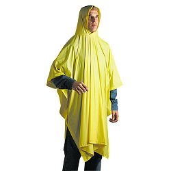 Disposable Rain Poncho 100% PVC Yellow (UNS07000)