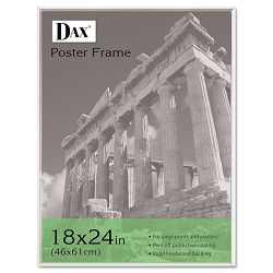 "U-Channel Poster Frame Contemporary with Plexiglas Window 18"" x 24"" Clear (DAX2811W5T)"
