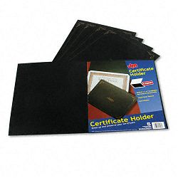 "Certificate Holder 12-12"" x 9-34"" Black Pack of 5 (ESS29900055BGD)"