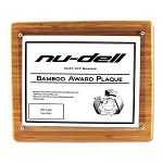 "Bamboo CertificateDocument Rounded Edge Frame 8 12"" x 11"" Insert Oak (NUD18862M)"