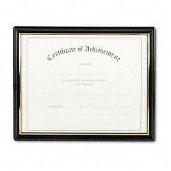 Framed AchievementAppreciation Awards Two Designs Letter (NUD19210)
