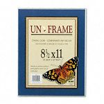 "Un-Frame Box Photo Frame Plastic 8-12"" x 11"" Clear (NUD30085)"