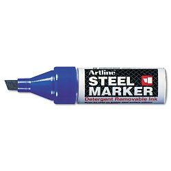 Steel Marker Chisel Tip 4mm Blue (ART47427)