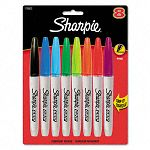 Grip Permanent Markers Assorted Set of 8 (SAN1738522)
