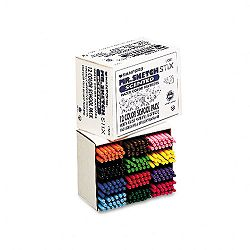 Scented Stix Watercolor Markers Fine Point 12 Colors Set of 216 (SAN3618)