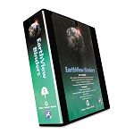 "Earthview D-Ring Presentation Binder 3"" Capacity Black (AUA20393)"