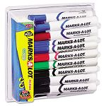 Desk Style Dry Erase Markers Chisel Tip Assorted Pack of 24 (AVE29870)