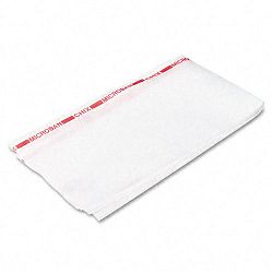 "Reusable Food Service Towels Fabric 13-12"" x 24"" White Carton of 150 (CHI8250)"