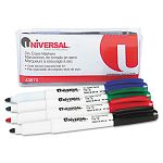 Pen Style Dry Erase Markers Fine Tip Assorted Set of 4 (UNV43670)