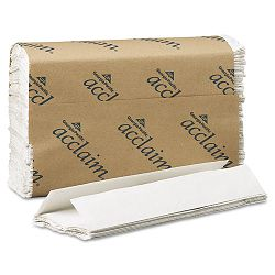 "Acclaim C-Fold Paper Towels 10-14"" x 13-14"" White 240Pack Carton of 10 (GEP20603)"