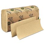 "Envision Multifold Paper Towel 9-14"" x 9-12"" Brown 250Pack Carton of 16 (GEP23304)"