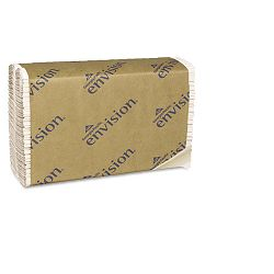 "Envision C-Fold Paper Towel 10-14""w x 13-14""h White 240Pack Carton of 10 (GEP25190)"