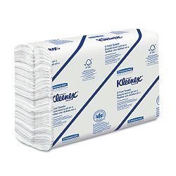 "KLEENEX C-Fold Paper Towels 10 18"" x 13 320"" White 150Pack Carton of 16 (KIM01500)"