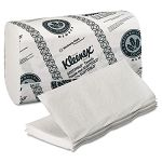 "KLEENEX SCOTTFOLD Paper Towels 8 110"" x 12 25"" White 120Pack Carton of 25 (KIM13253)"