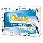 "KLEENEX C-Fold Paper Towels 10 18"" x 13 320"" White 150Pack Carton of 16 (KIM88115)"