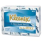 KLEENEX C-Fold Towels White 150Pack (KIM88115PK)