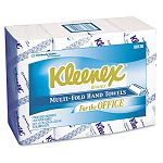 "KLEENEX Multifold Paper Towels 9 15"" x 9 25"" White 150Pack Carton of 16 (KIM88130)"