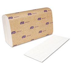"Interfold Towels White 9"" x 10"" 2-Ply 144Pack 21 PacksCarton (SCA101291)"