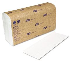 "Multi-Fold Towel White 9-12"" x 9-18"" 2-Ply 250Pack 16 PacksCarton (SCAMB550)"
