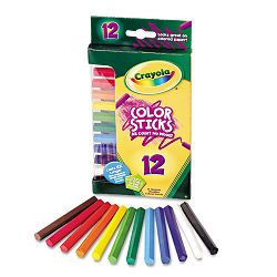 Woodless Color Pencils Assorted Pack of 12 (CYO682312)