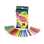 Woodless Color Pencils Assorted Pack of 24 (CYO682324)