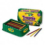 Colored Wood Pencil Trayola 3.3 mm 9 Assorted Colors 54 PencilsSet (CYO688054)