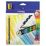 Groove Slim Colored Pencils Assorted Pack of 24 (DIX2821240)