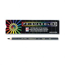 Premier Colored Pencil Black LeadBarrel Pack of 12 (SAN3363)