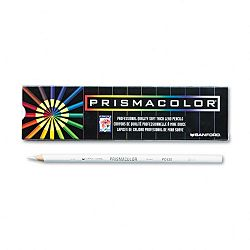 Premier Colored Pencil White LeadBarrel Pack of 12 (SAN3365)