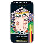 Premier Colored Woodcase Pencils 24 Assorted ColorsSet (SAN3597T)