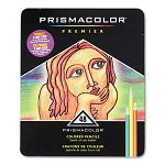 Premier Colored Woodcase Pencils 48 Assorted ColorsSet (SAN3598T)