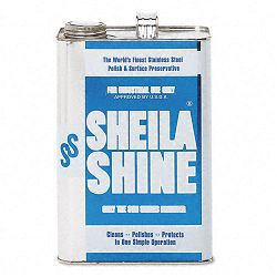 Stainless Steel Cleaner & Polish 1 Gallon Can (SHE4EA)